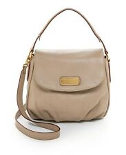NWT Marc by Marc Jacobs NEW Q Lil Ukita Leather Hobo Shoulder Bag CEMENT BEIGE
