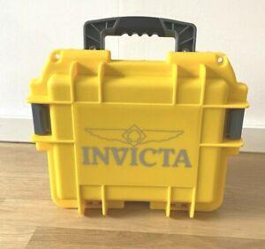IVICTA IMPACT CASE - UHRENKOFFER 3 UHREN - WASSERDICHT - GELB