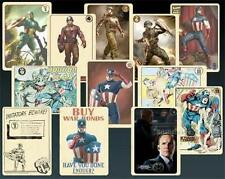 AVENGERS Official Coulson Vintage CAPTAIN AMERICA Trading Card Set PROP Replica