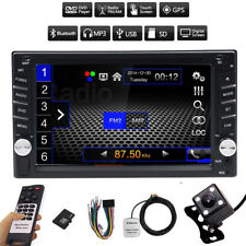 """6.2"""" In Dash Double 2 Din Car Stereo DVD Player GPS Navigation Bluetooth+CAMERA"""