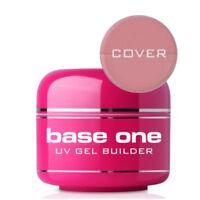 Base One COVER Acid Free UV Gel FILE OFF Nail Gel BUILDER 50g Silcare