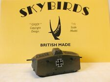 Skybirds Models. WW1 German A7V  Tank.