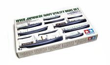 Tamiya Military Model 1/350 War Ship WWII Japan Navy Utility Boat Set 78026