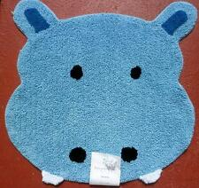 Safari Animals Sat Knight Ltd Hippo Rug Carpet Bed Bath Baby Cotton Decor~New
