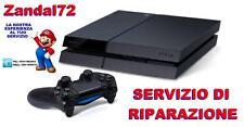 SERVIZIO DI RIPARAZIONE LUCE BLU DELLA MORTE PLAYSTATION 4 NON SI ACCENDE PS4