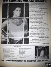 Eric Carmen Autumn 1977 Tour Dates Promo Poster Ad