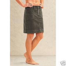 ATHLETA Washed Velvet Skirt, NWOT, Size 14 Olive  Retail $69