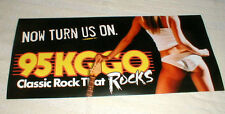 "Banned in Iowa ""NOW TURN US ON""  KGGO Radio ""Classic Rock That Rocks"" 2' long"