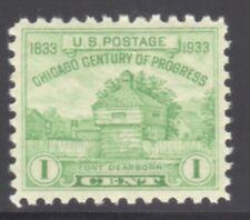 US STAMP #728 --- 1c CHICAGO - XF-S U P E R B - MINT - GRADED 95