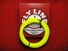 TFT  30 Metre Fly Line  Fishing Line WF 5 Yellow  Floating
