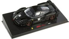Ferrari FXX Negro N.30 Michael Schumacher. Coche Escala 1/43 HOT WHEELS ELITE