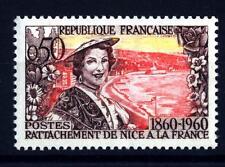 FRANCE - FRANCIA - 1960 - Centenario dell'annessione della Savoia e di Nizza