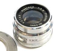 Anastigmat f:3.5 80mm Lens