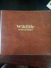 Wildlife Of The 50 States USPS Collection  With COA