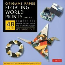 Origami Paper Floating World Ukiyo-E Small 6 3/4 (2013, Kit)