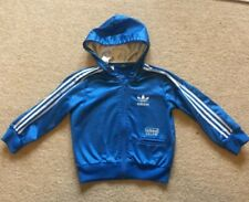 Kids Childs Infant Adidas Chile 62 Tracktop Hoodie Hoody Age 3/4 Years