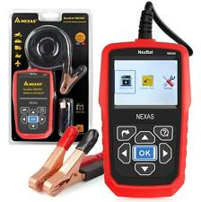 NEXAS Battery Load Tester & Charging System Analyzer 100-2000 CCA Color Display!