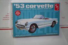 1953 Corvette AMT Plastic Model Kit New in Sealed Box 1/25 Scale