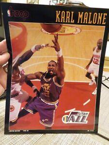 HOOP Print---KARL MALONE Boston Celtics vs. Utah Jazz November 15, 1995