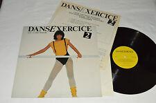 DANSEXERCICE Volume 2 Avec Claire Pimpare LP 1982 Danse Exercice Vinyl w/BOOKLET