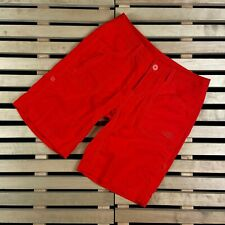 Womens Shorts The North Face Size 4 Red