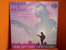 VINYL 33T – HOMMAGE A BOB DYLAN – FRENCH TRIBUTE TO DYLAN –DIDIER JUDY NASH WINN