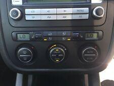 VOLKSWAGEN VW GOLF MK5 2004-2009 HEATER CONTROL PANEL (AIR CON) HEATED SEATS