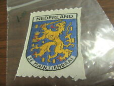 Netherlands  Je Maintiendrai Woven Patch      c60