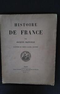 histoire de France Jacques Bainville Plon 1925