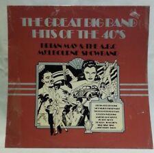 BRIAN MAY & A.B.C. MELB SHOWBAND - vintage vinyl LP - BIG BAND HITS OF THE 40S