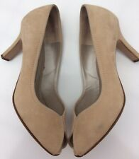 Peter Kaiser Uk5 Beige Suede Peep Toe Court Shoes Some Marks Summer Events