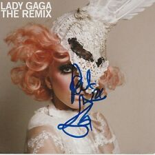 LADY GAGA Autographed Signed THE REMIX CD - To Pat