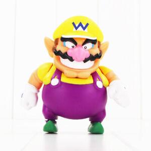 Super Mario Wario 1 PC Cartoon Action Figure Kids Toy Gift Cake Topper Decor