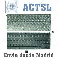 "TECLADO ESPAÑOL APPLE MACBOOK A1278 MB467 13.3"" NEGRO"