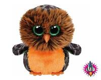 TY BEANIE BUDDIES HALLOWEEN MIDNIGHT THE OWL SOFT TOY NEW WITH TAGS