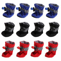 4Pcs/set Dog Boots Shoes Anti Slip Waterproof Puppy Rain Pet Small Cat Pet Socks