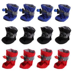 4Pcs/set Dog Boots Shoes Anti Slip Waterproof Puppy Rain Pet Small Cat Pet Socks