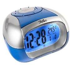 Reflex Blue Talking Digital Alarm Clock for Blind/Partially Sighted - Brand New