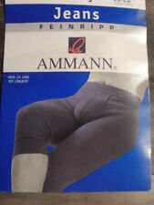 Ammann 3/4 lange Unterhose Gr. 5 mit Eingriff , Farbe Anthrazit ungetragen,