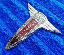 Rare NOS NEW OEM 1997 Pontiac Bonneville 40th Anniversary Metal Cloisonne Emblem