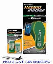 Thermacell ProFlex Heavy Duty Heated Insoles Bluetooth W/ Extra Battery XXL
