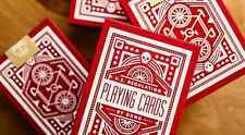 Red Wheel Playing Cards by Art of Play brand new sealed