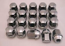 20 New Dodge Durango 05-09 Dakota 05-10 Factory OEM Polished Stainless Lug Nuts