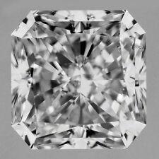 2 carat RADIANT cut DIAMOND GIA report D color VS1 clarity Ideal no fl. loose