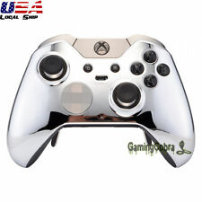 Chrome Silver Repair Front Shell for Microsoft Xbox One Elite Remote Controller