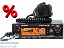 President Grant II 2 PREMIUM mit muRata  AM/FM/SSB CB Funk 12Watt LKW Funkgerät