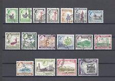 RHODESIA & NYASALAND 1959 SG 18/31 + Varieties USED Cat £110