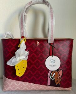 NWT!!  Kate Spade X Tom & Jerry Large Tote Bag PXRUA978~~Limited Edition!!