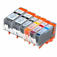 6 PK INK PGI-220 CLI-221 XL NON-OEM FOR CANON IP4700 MP640 MP990 MX870 MP620
