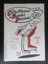 revue le collectionneur de bandes dessinées Jazz et BD N° 83 1997